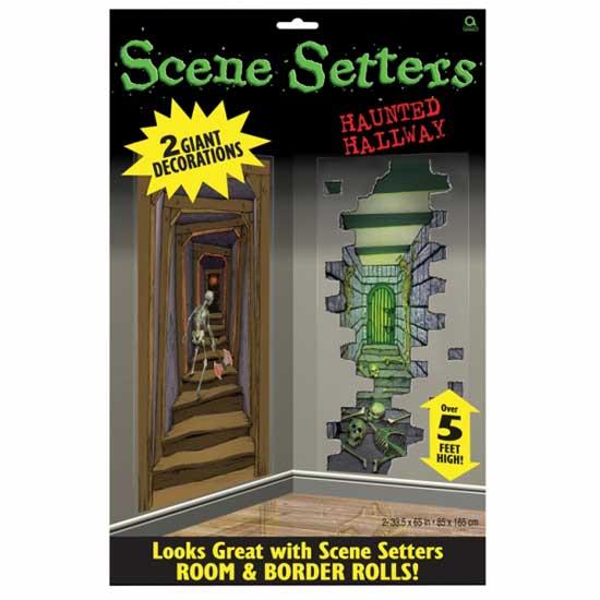 Halloween Encantada de pasillos Setter Escena Add-Ons Plástico Decoraciones 1.65m X 85cm