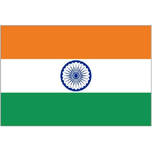 Bandera de la India 153 x 91 cm
