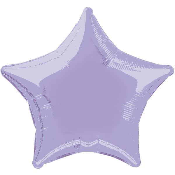 Globo Foil Estrella Color Lavya de 48 cm