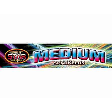 5 Sparklers de color mediano - 20cm - (1 paquete de 5)