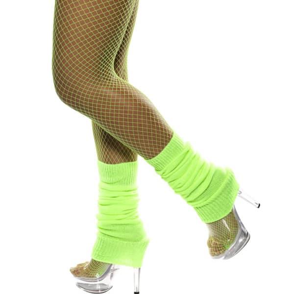 Polainas Verde Neón - Accesorios Disfraces
