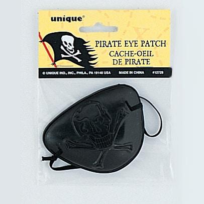 Parche De Ojo Negro Pirata