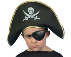 Niño Pirata Capitán Gorro EVA