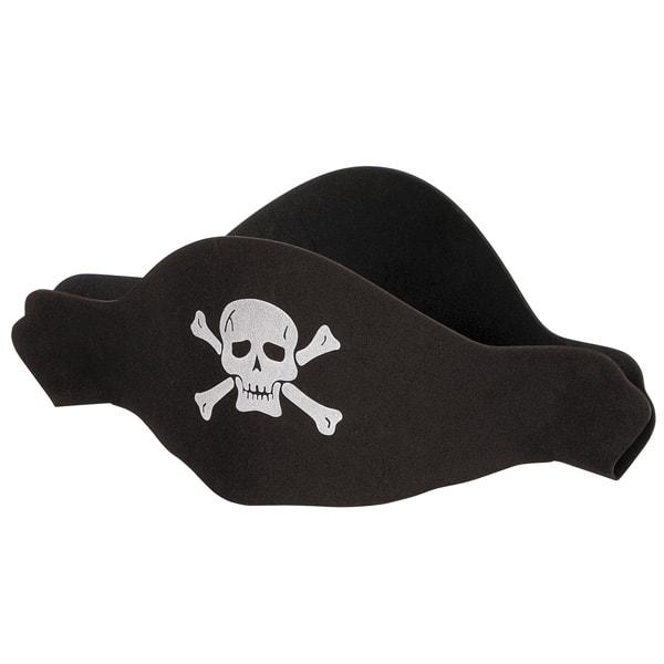 Pirata Sombrero Plana de Espuma