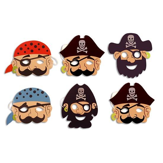 Pirata de Espuma Máscara - Unidad