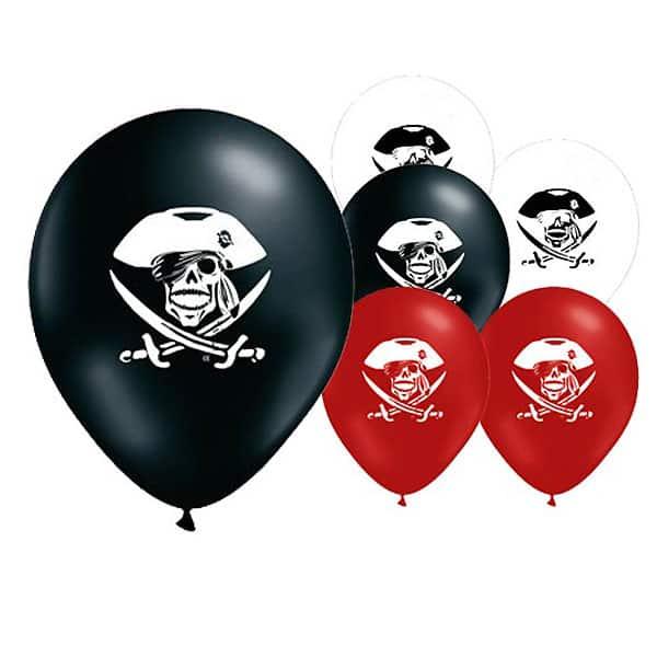 Fiesta de Piratas 30cm Globos de Látex