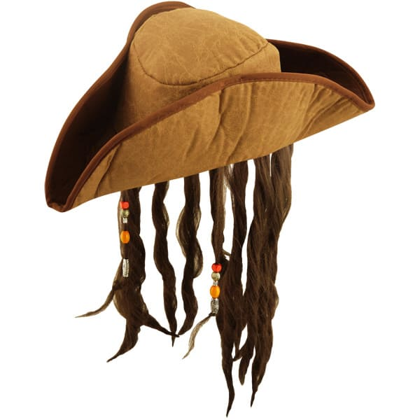 Sombrero Pirata del Caribe - Adulto