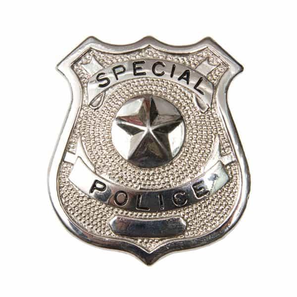 Insignia Policial de de Plástico