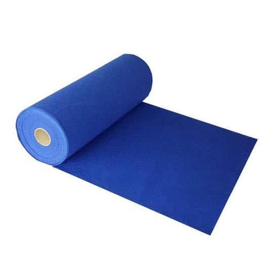 Prestige Pesado Alfombra Azul Corredor