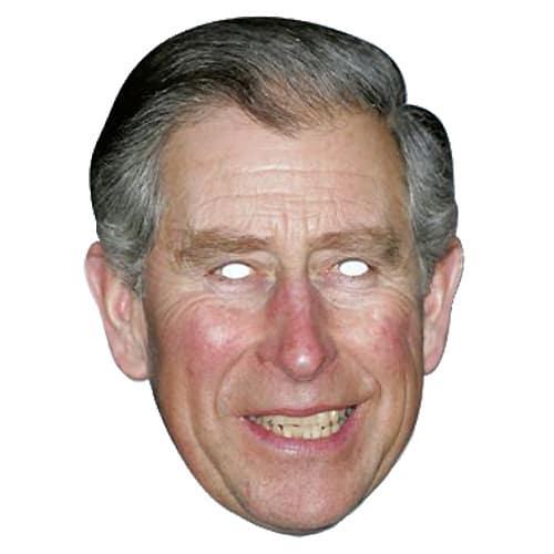 Príncipe Charles Persona Famosa Fiesta Máscara - Unidad