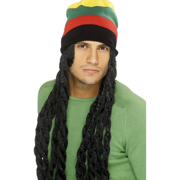 Sombrero Rastafari con Dreadlocks