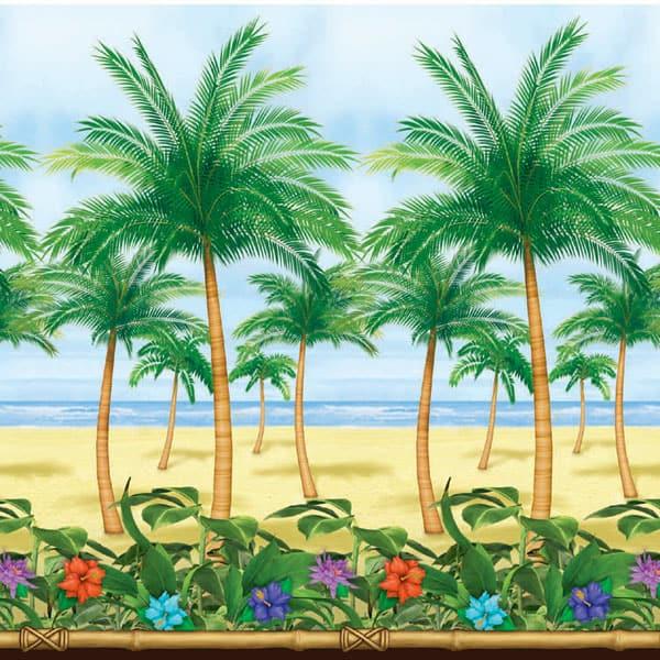 Mural para crear ambientes - Paraiso Tropical