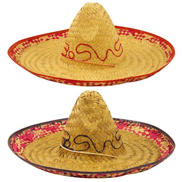Sombrero de Paja - Unidad - Color Surtido