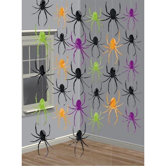 Cadena de Arañas Decoración de Cadena - Pack de 6