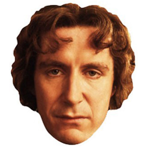 El Doctor Octavo Famosos Máscara de Cartón - Unidad
