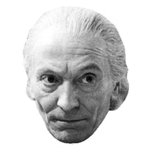 El Primer Doctor Famosos Máscara de Cartón - Unidad