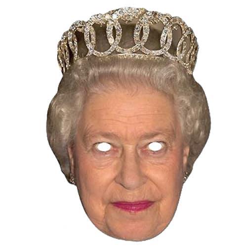 La Máscara de la Cara de la Reina de Cartón - Unidad