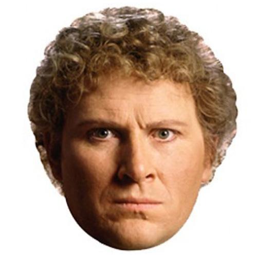 El Sexto Doctor Famosos Máscara de Cartón - Unidad