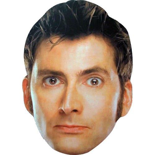 El Décimo Doctor Famosos Máscara de Cartón - Unidad