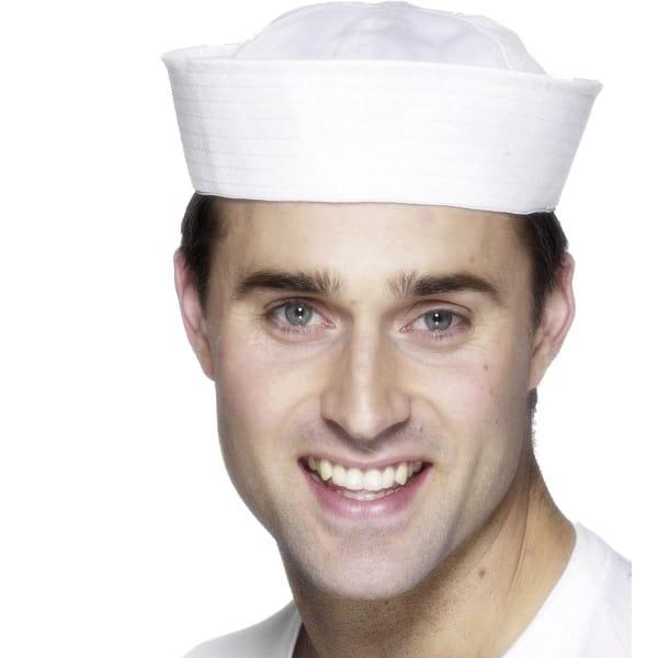 Blanco EE.UU. Sombrero de Marinero/Doughboy