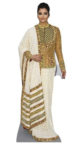 Aishwarya Rai Bachchan 167cm Figura de Cartón Tamaño natural