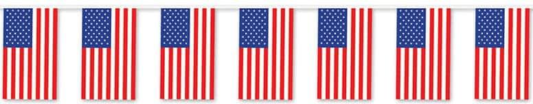 Bandera Americana de 18,2 Metros PANCARTA BANDERÍN AL AIRE LIBRE