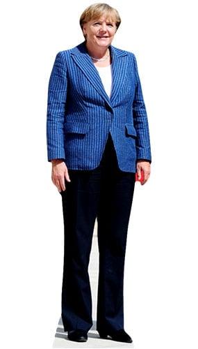 Angela Merkel 164cm Figura de cartón tamaño natural