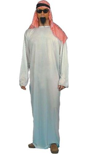 Disfraz Arabe - Talle M Adultos