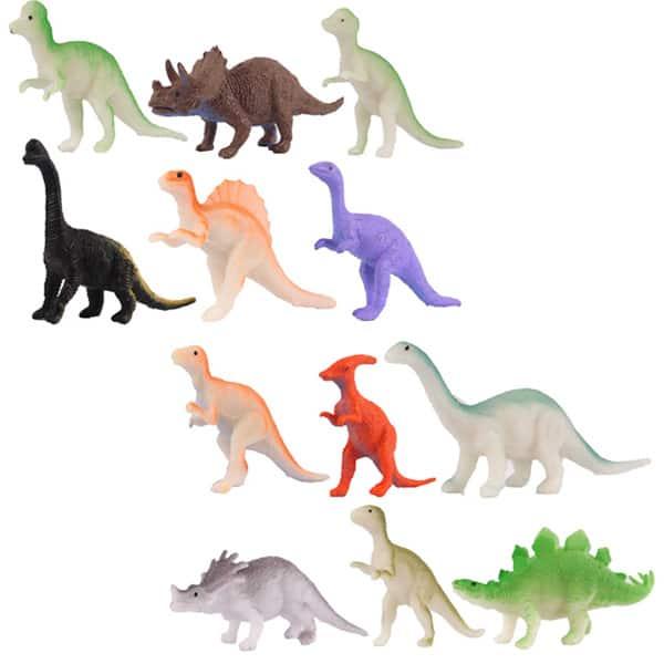 Peque??a estatuilla dinosaurio de Plástico - Single