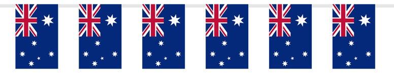 Banderín de Tela Australiana