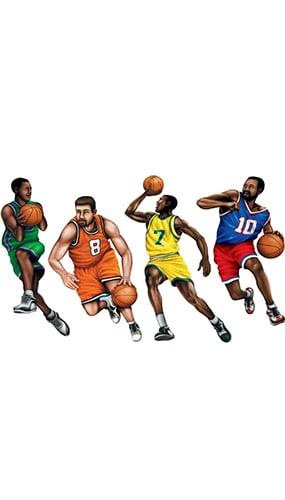 Figuras de Baloncesto - Paquete de 4