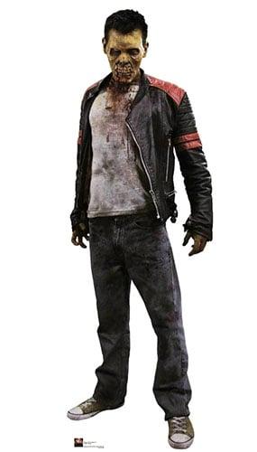 Biter Zombie 186cm Tamaño real Figura de cartón