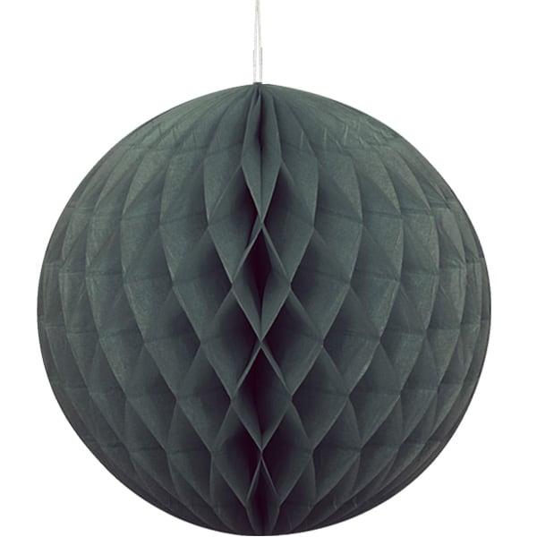 Negro Nido de Abeja Bola de Colgante Decorativo