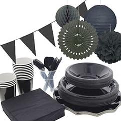 Negro Fiesta Suministros