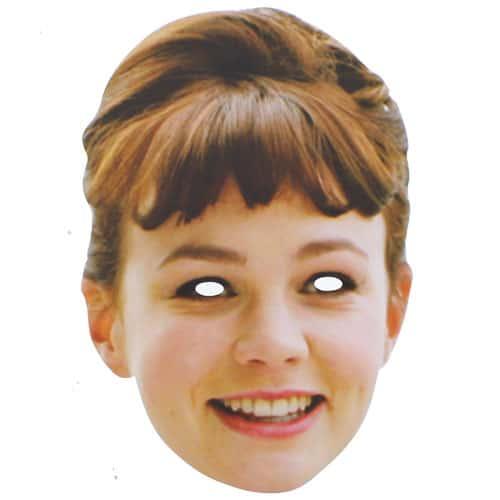 Carey Mulligan Persona Famosa Máscara de Cartón - Unidad