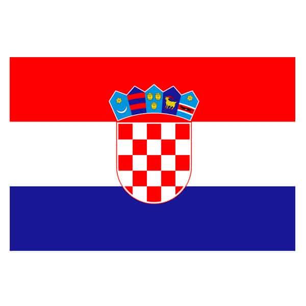 Bandera de Croacia 150 x 90 cm