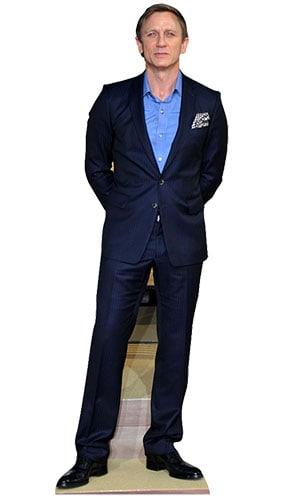 Daniel Craig 182cm Tamaño real Figura de cartón