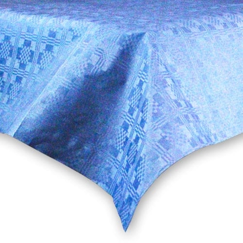 Mantel de Papel Azul Oscuro (1 Unidad) 90 x 90 cm