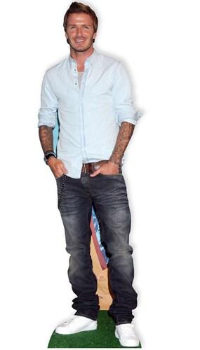 David Beckham 181cm Tamaño real Figura de cartón