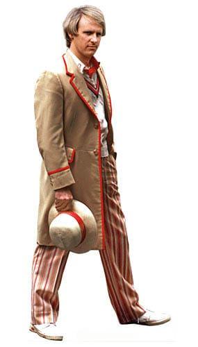 Peter Davison El Quinto Doctor 178cm Tamaño real Figura de cartón
