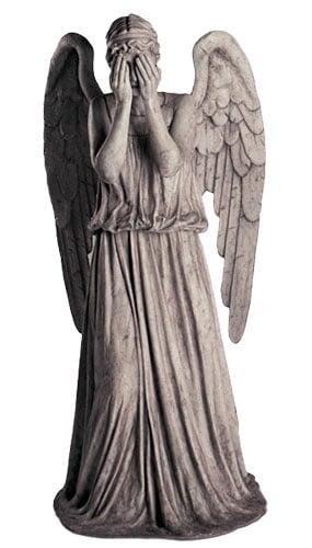 Ángel Lloroso - Figura de cartón a tamaño real