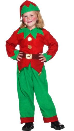 Elf Disfraz para Edad 3-5 Años - Pequeño