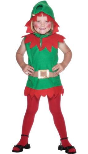 Disfraz Niño Elfo - Talle S para 2 - 3 Años