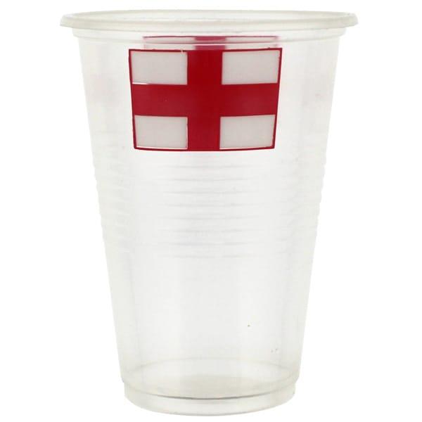 Bandera de Inglaterra Vaso de Pinta - Pack de 10