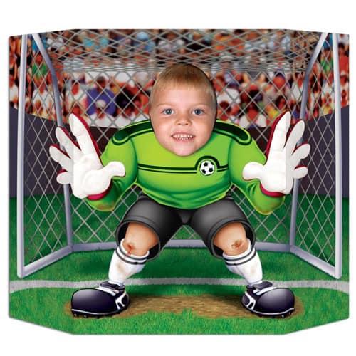 Cartel de foto de fútbol