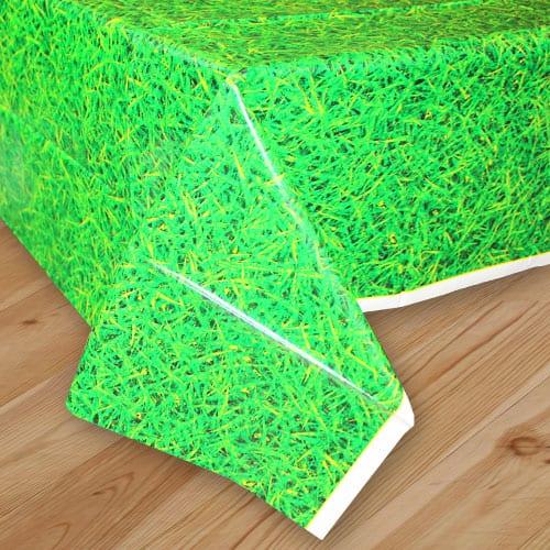 Mantel De Plástico Verde Hierba 274Cm X 137Cm
