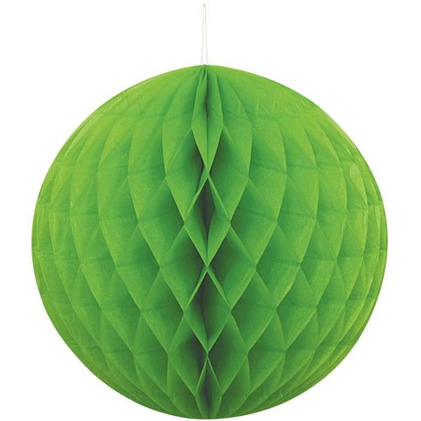 Verde Nido de Abeja Bola de Colgante Decorativo