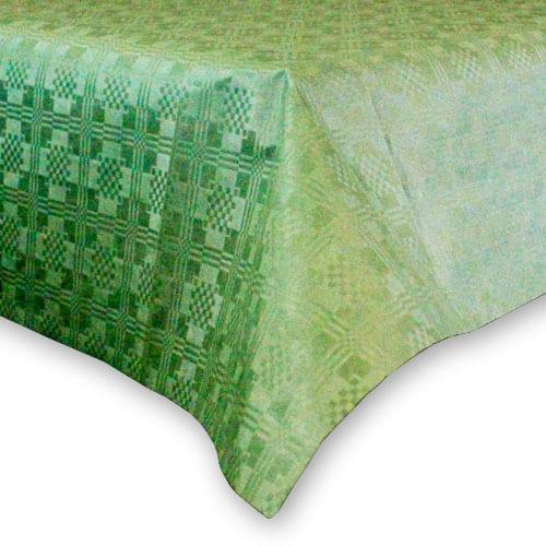 Mantel de Papel Verde (1 Unidad) 90 x 90 cm