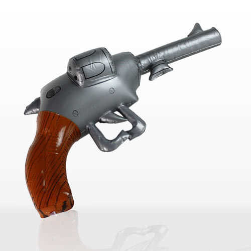Pistola / Revólver Inflable