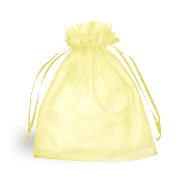 Saquito de Organza Amarilla Clarita